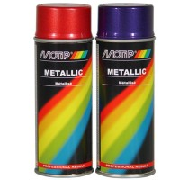SPRAY ROOD METALLIC 400ML