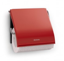WC-ROLHOUDER PASSION RED BRABANTIA