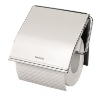 WC-ROLHOUDER BRILLIANT STEEL BRABANTIA
