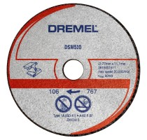 Snijschijf voor metaal en plastic S510JA