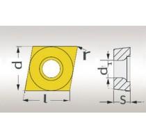 SNIJPLAAT CCMT060204 (5 ST)