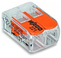 100/WAGO STEEKKLEM HENDEL 2X0,2-4MM