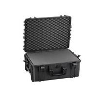 Harde  koffer 594x473x270mm IP67waterdicht met schuimmrubber