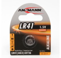 1ST/Ansmann, alkaline button cell, 1.5V,