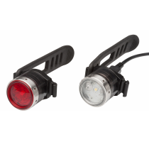 B2R bicycle Set front+rear light herlaadLed Lenser