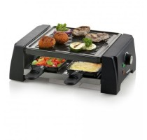 RACLETTE GRILL JUST US DELUXE 4P. DOMO