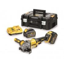 54V XR FLEXVOLT slijper- 2 batteries ensnellader