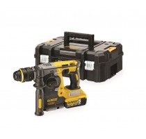18V XR Brushless SDS + Combihamer met snelwisselboorhouder 2x 5,0 Ah in TSTAK ko