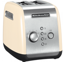 BROODROOSTER RVS/AMANDELWIT KITCHENAID