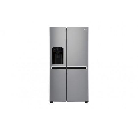 S-B-S/shiny steel/600l/door in door/large ice maker / 91,2-179-73,8