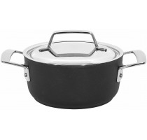 Alu Pro kookpot met rvs deksel 16 cm