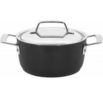 Alu Pro kookpot met rvs deksel 18 cm