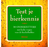 Test je bierkennis - 30 onderzetters
