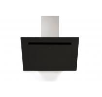 Wanddampkap/vision/A+/90cm/zwart