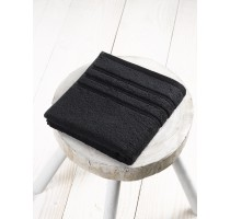 De Witte Lietaer Dolce badtextiel - handdoek zwart