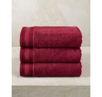 De Witte Lietaer Excellence badtextiel - handdoek dark red