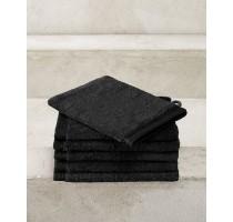 De Witte Lietaer Excellence badtextiel - washandje zwart