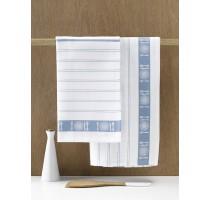 De Witte Lietaer BML keukentextiel - theedoek wit/oxyde