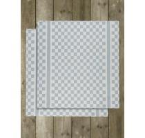 De Witte Lietaer Groom keukentextiel - theedoek wit/oxyde