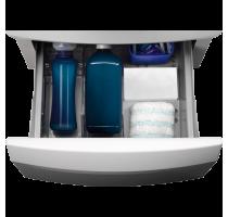E6WHPED3 Exclusiv PREMIUM sokkel met lade. Kleur : Global White. Compatibel met