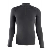 THERMO SHIRT SEAMLESS M/L BLACKKapriol