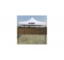 WERF-/ PARTYTENT OPEN 3X3M STAAL IRONSIDE