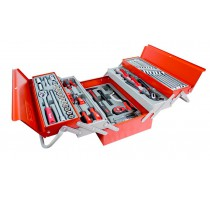Toolkit 99dlg. 1/2in 5dlge. stalen koff
