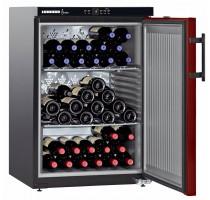Liebherr WKr 1811-21 Wijnbewaarkast 128Lcirca 66 flessen 60cm H=89cm A+ zwart/ro