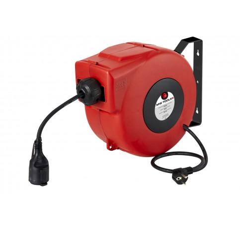 Oprolhaspel elect. kabel 3x2.5mm2 L. 8mCG
