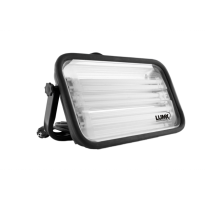 PL108 werklamp/108 W/IP 54/met 2 stopkontakten