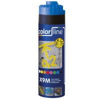 X9M Paint Marker - 500 ml - FLUO BLAUW