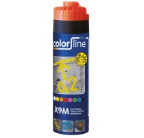 X9M Paint Marker - 500 ml - FLUO ORANJE