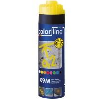 X9M Paint Marker - 500 ml - FLUO GEEL
