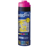 X9M Paint Marker - 500 ml - FLUO ROOS