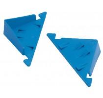 Snoerspanners voor blokken, blauw per pa