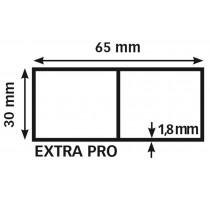 Alu rij, 65 x 30 EXTRA PRO 1,8 mm / 300