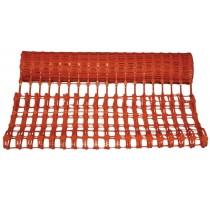 Afbakennet kunststof rood 50 m x 1 m - 1