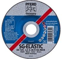SNIJSCHIJF EH 125-2.4 A46 R SG-INOX