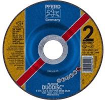 DUODISC E115-2.8 A46P PSF-INOX