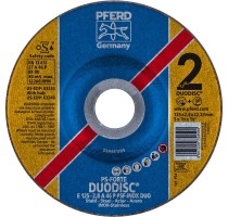 DUODISC E125-2.8 A46P PSF-INOX