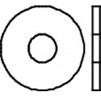 SLUITRINGEN DIN 9021 M  6X18 ZN/BLISTER