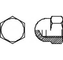 ZESKANT DOPMOER DIN 1587 M  6 INOX A2/B