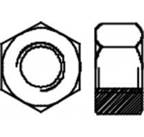 ZESKANTMOER A2-70 DIN 934 M  6/BLISTER